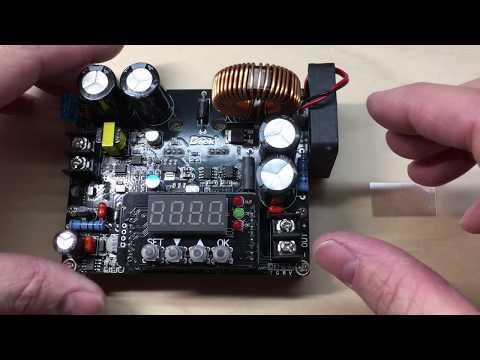 DROK Constant Voltage, Constant Current Buck Regulator As A Portable DC Supply