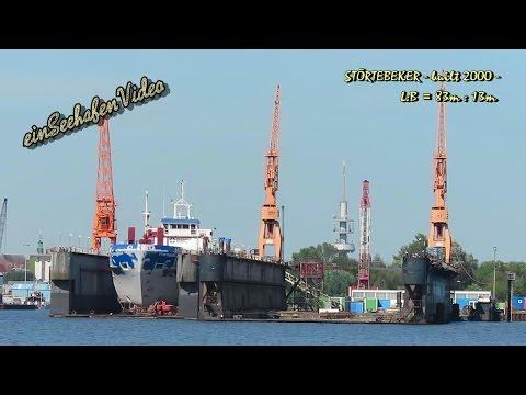 coaster STÖRTEBEKER ZDEG7 IMO 9195377 Emden floating dock cargo seaship merchant vessel KüMo