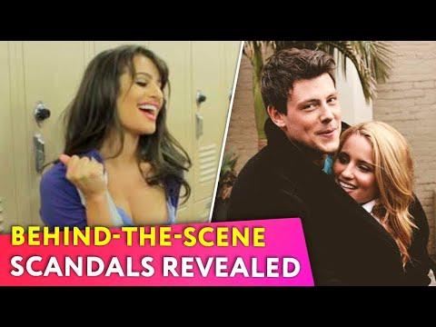 Glee: Top-10 Behind-The-Scenes