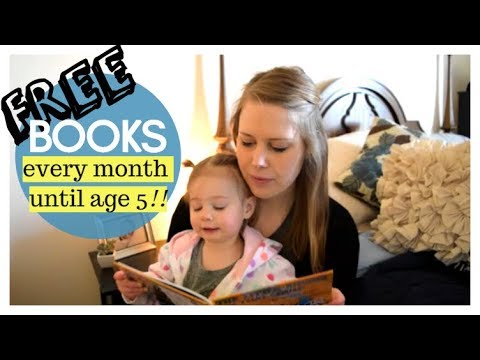 FREE BOOKS FOR YOUR KIDS/BABY UNTIL AGE 5! How to get free books - Dolly Parton Imagination Library