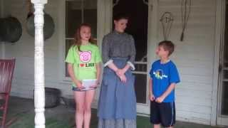 Kid Reporters: At the 1900 Farm House
