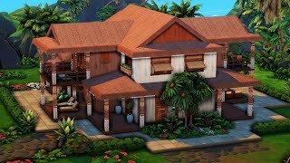 Hoapili Family Home 🌺 || The Sims 4: Speed Build