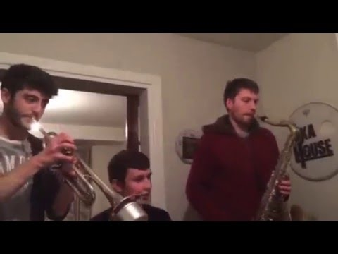 The Ska House Horn Section Play the Country Tango Game