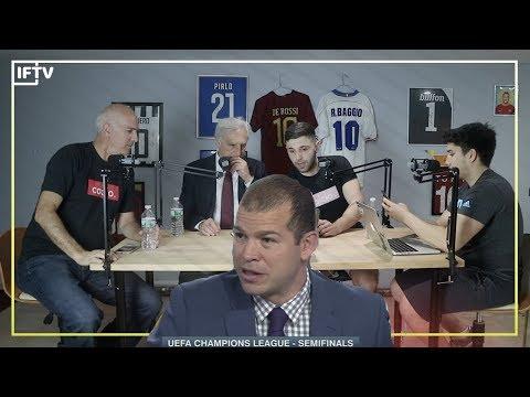 Italians react to ESPNs Alejandro Moreno's bias analysis of AS Roma vs Liverpool (Serie A Podcast)