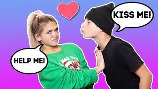 My Crush Says YES To Me For 24 Hours CHALLENGE **SHE KISSED ME** | Gavin Magnus ft. Coco Quinn
