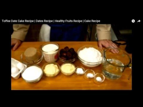 toffee-date-cake-recipe-|-dates-recipe-|-healthy-fruits-recipe-|-cake-recipe