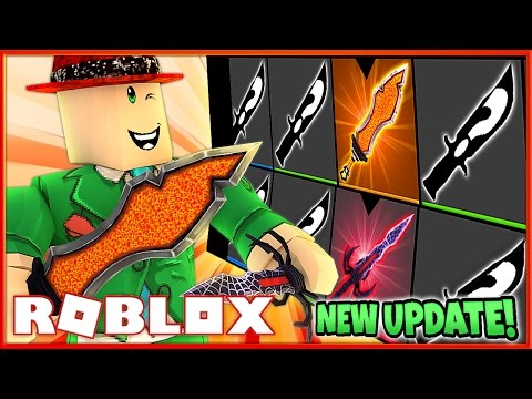 UNBOXING THE NEW EXOTIC AND MYTHIC KNIVES!! | NEW ASSASSIN UPDATE! | Roblox