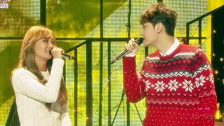 [HOT] Hyolyn X Jooyoung - White Christmas, 효린 x 주영 - 화이트 크리스마스, Show Music core 20141220