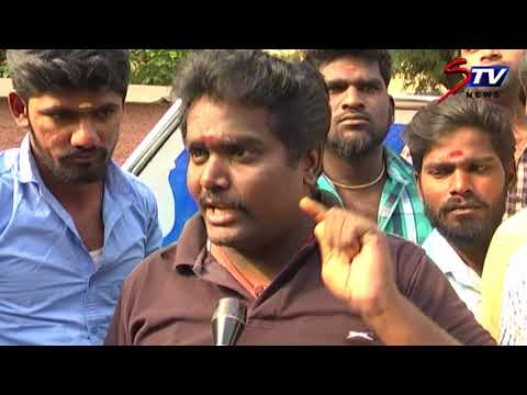 Suriya fans ANGRY PROTEST against Sun Music anchors for taking potshots @ actor's height  STV