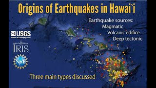 Origin of Earthquakes in the Hawaiian Islands