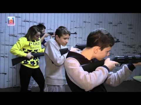 Турнир по стрельбе из пневматического оружия среди воспитанников детских домов