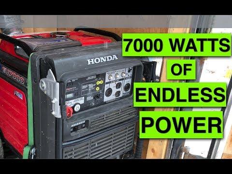 The BEST Genny! Honda EU 7000 Generator Review