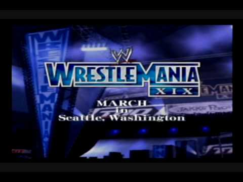 Wrestlemania 19 GSH