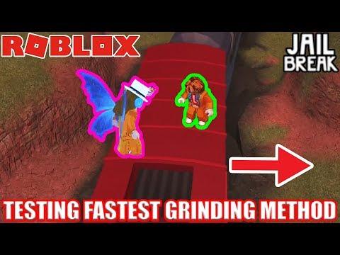 TESTING the FASTEST Grinding Method EVER (RogueBirdie strategy) | Roblox Jailbreak