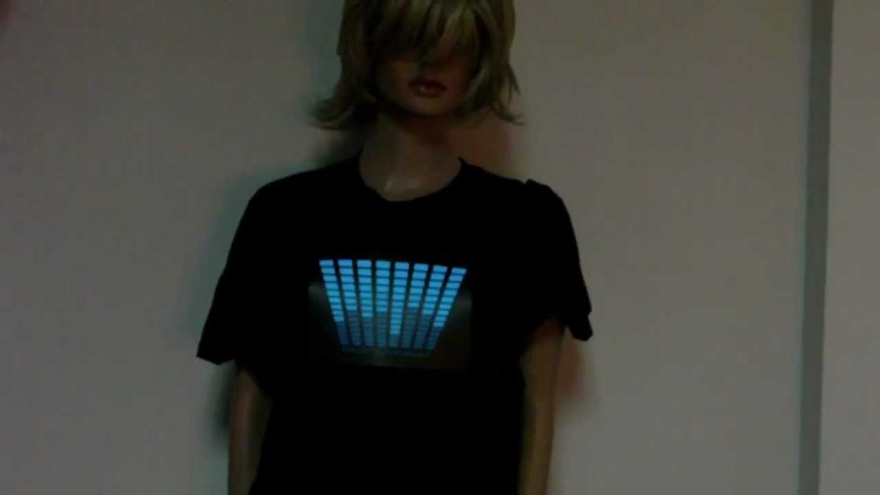 757bd59a4e78 When There Are Music, Your T-Shirt Starts Dancing - YouTube