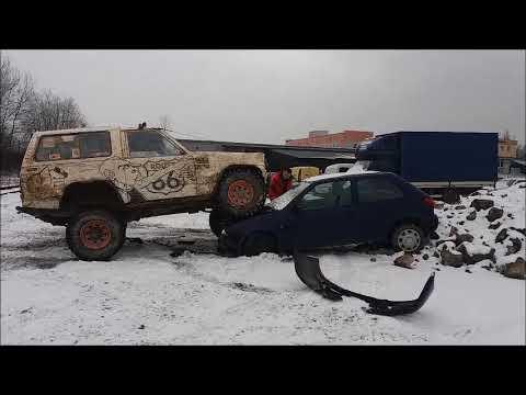 nissan patrol k160 3 3 turbo diesel vs ford fiesta youtube. Black Bedroom Furniture Sets. Home Design Ideas