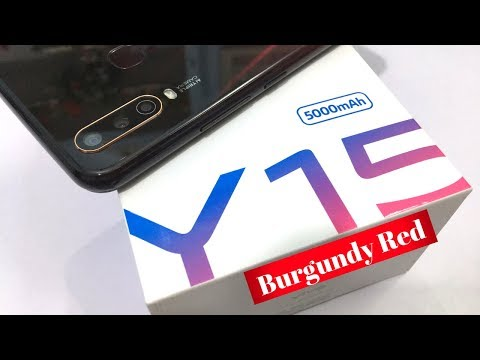 Vivo Y15 Unboxing and Full Review | Burgundy Red II India's Cheapest Triple AI Camera Phone🔥😘📸