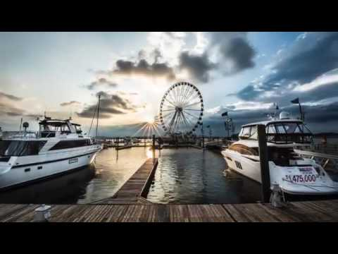 National Harbor, Maryland- Timelapse
