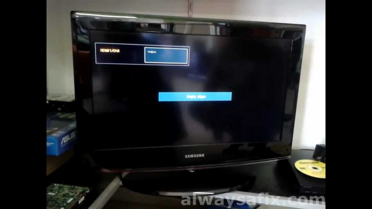 Easy fix for new Samsung TV switching on and off power cycling ...