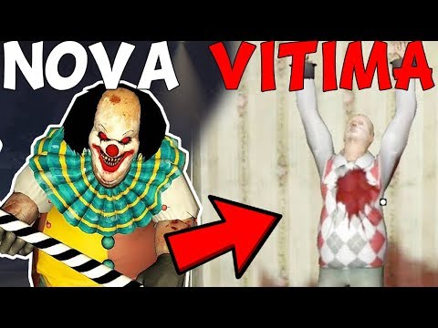 O PALHAÇO SEQUESTROU UMA NOVA VITIMA! - NOVA ATUALIZAÇÃO - Horror Clown Pennywise (JOGO DE TERROR)