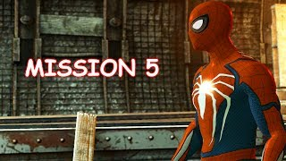 Playing as PS4 Spider-man - Mission 5 - The Amazing Spider-man 2 (PC)