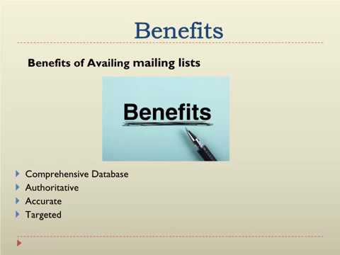 Government  Agencies and Department  mailing List