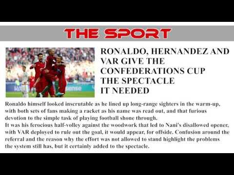 FIFA Confederations Cup 2017 - Portugal v Mexico 2:2 Report