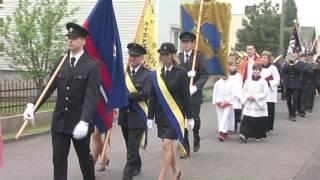 Strahovice - Svatý Florián a výročí SDH   Hlucinsko.TV