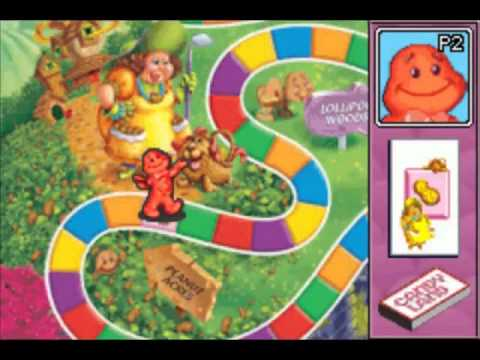 Let's Play Candy Land, Chutes & Ladders, Memory Game - Video Board Games