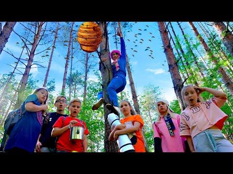 УШЛИ ИЗ ЛАГЕРЯ? Самый ЭКСТРЕМАЛЬНЫЙ поход в лес!