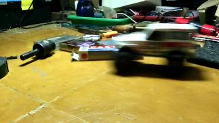 tamiya land cruiser 1/32 mod to rc 4wd