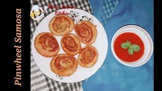 Alur Pinwheel Shingara Recipe|Pinwheel Samosa Recipe|Pinwheel Recipe|Bangladeshi Samosa