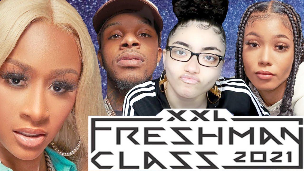 2021 XXL Freshman Freestyle Reaction Coi Leray, Lakeyah & Toosii