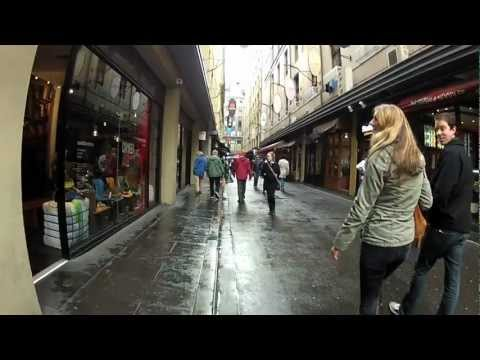 Degraves St Melbourne | Coffee Hub Lanes | Steadicam Walking Tour