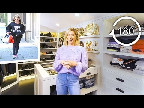 Ashley Tisdale Gives a Tour of Her Closet in 180°  Glamour