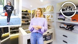 Ashley Tisdale Gives a Tour of Her Closet in 180° | Glamour