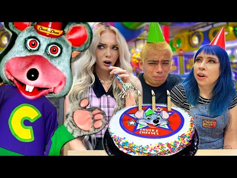 We had a Chuck E Cheese Birthday Party and it was TERRIFYING...