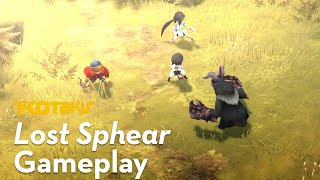 17 Minutes Of Lost Sphear Gameplay