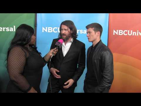 Kieran and Ed Speleers @ NBC Universal Press Tour  Black Hollywood Live