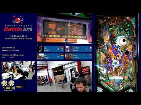 Pinball Universe Battle 2019 - Saturday Finals