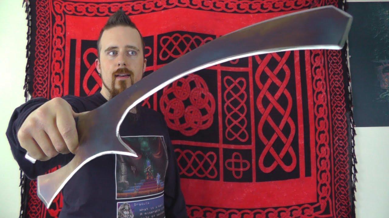 Laser Cut Klingon Mek'leth Replica by Bohrdasaplanck - Thingiverse