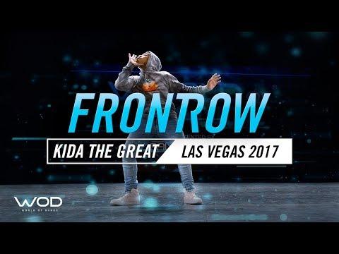 Kida The Great   FrontRow   World of Dance Las Vegas 2017  #WODLV17