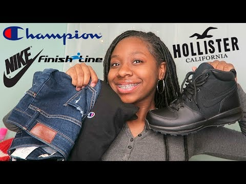 BLACK FRIDAY HAUL! CHAMPION , FINISH LINE, HOLLISTER AND MORE!