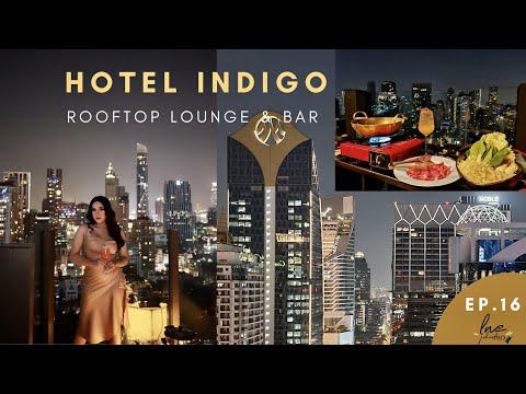 เทยPhaเที่ยว Ep.16 |ชาบู ที่ไฮโซที่สุด บนรูฟท็อป วิวหลักล้าน อาหารหลัก100 HotelindigoBangkok