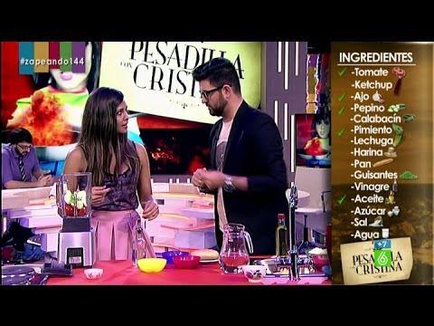 Cristina Pedroche hace gazpacho en Zapeando thumbnail