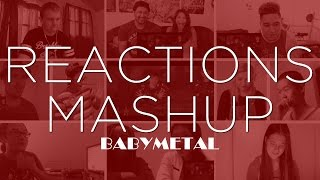 Babymetal - Gimme Chocolate REACTIONS MASHUP!!!