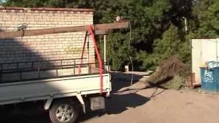 Mobile Crane Godzilla Мобильный кран Годзилла(Доработал предыдущую версию крана. Использовал трубу квадратного сечения, сделал пропилы, вставил ролик..., 2013-06-24T03:07:22.000Z)