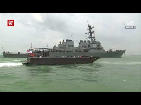 U.S. Navy to halt operations after USS John S. McCain crash