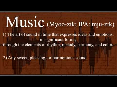 Word Origins - Music