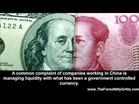Free Renminbi Exchange Rate versus the Dollar